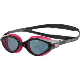 speedo Futura Biofuse Flexiseal Maschera Donna, nero/rosa